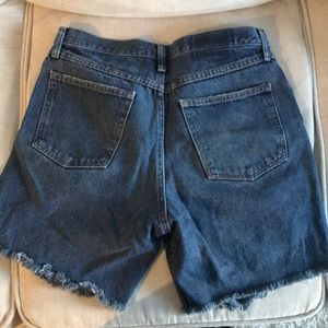 Free People Shorts - Free people ripped jeans